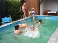 Badespass im Pool